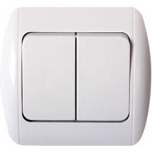 Выключатель E.NEXT e.install.stand.812 двухклавишный (s035005)