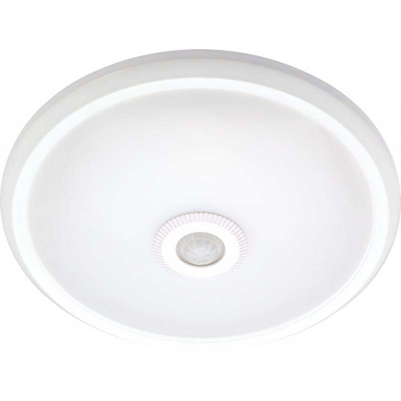 Светильник светодиодный потолочный E.NEXT с датчиком движения e.sensor.LED.77.12.4000 (белый), 12Вт, 4000К, 360 °, IP20 (s061022)