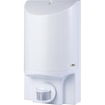 Светильник настенный E.NEXT с датчиком движения e.sensor.lum.52.e27.white (белый) 180 °, IP44 (s061024)