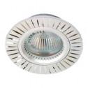 Встраиваемый светильник Feron GS-M394 серебро (17936)