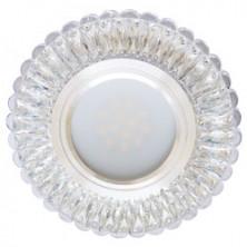 Встраиваемый светильник Feron 7314 с LED подсветкой (28858)