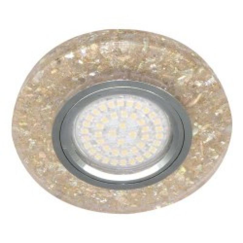Встраиваемый светильник Feron 8585-2 с LED подсветкой (28577)