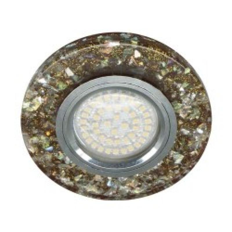 Встраиваемый светильник Feron 8585-2 с LED подсветкой (28580)