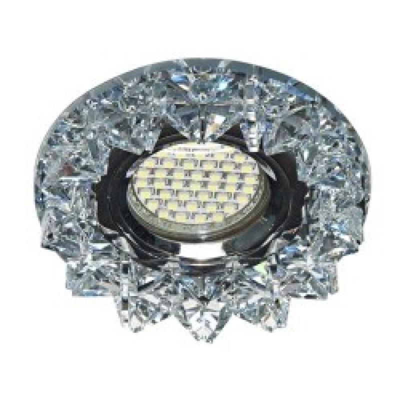 Встраиваемый светильник Feron CD2542 с LED подсветкой (27968)
