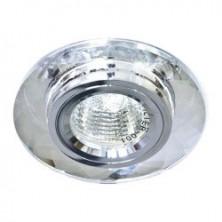 Встраиваемый светильник Feron 8050-2 серебро серебро (20112)