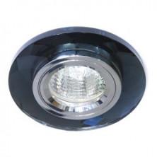 Встраиваемый светильник Feron 8050-2 серый серебро (20113)