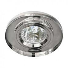 Встраиваемый светильник Feron 8060-2 серебро серебро (20116)