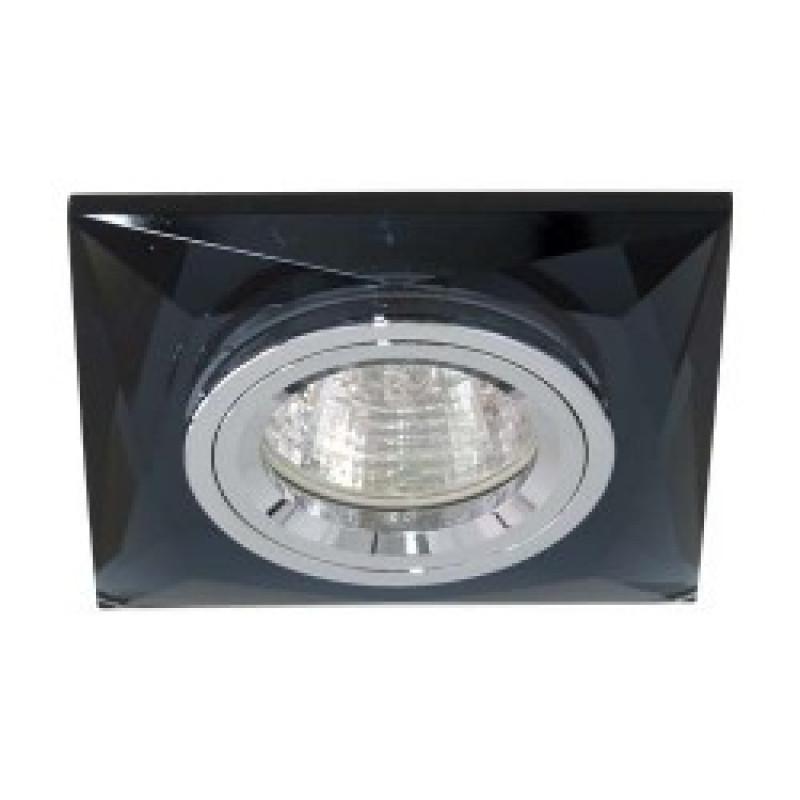 Встраиваемый светильник Feron 8150-2 серый серебро (20125)