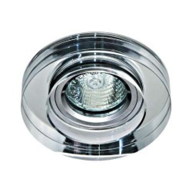 Встраиваемый светильник Feron 8080-2 прозрачный (20098)