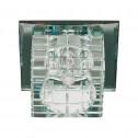 Встраиваемый светильник Feron JD106 прозрачный прозрачный (28248)