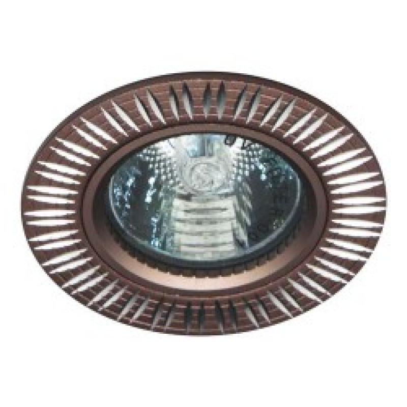 Встраиваемый светильник Feron GS-M369 коричневый (28215)