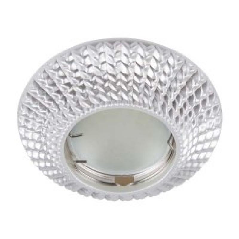 Встраиваемый светильник Feron CD003 серебро (28747)