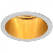 Встраиваемый светильник Feron DL6003 белый-золото (29732)