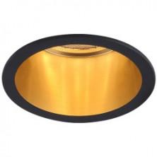 Встраиваемый светильник Feron DL6003 черный-золото (29731)