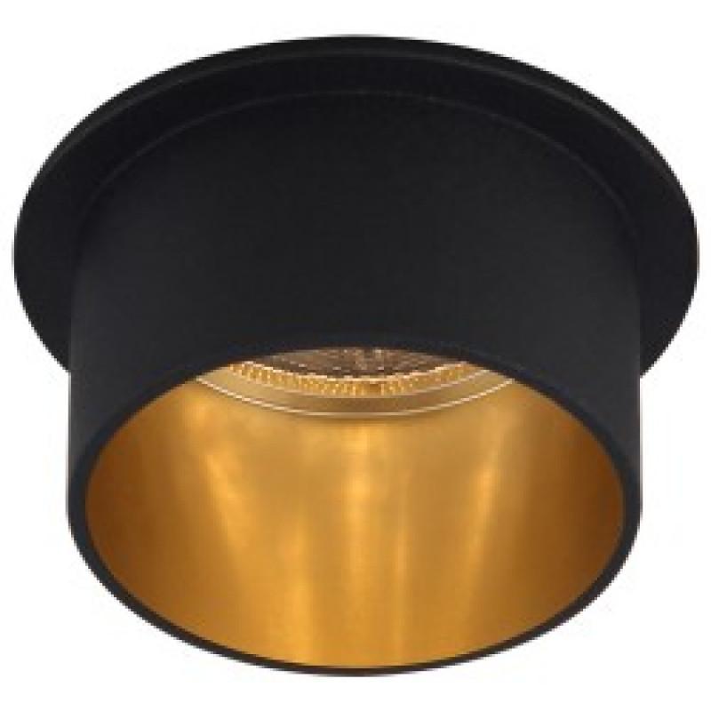 Встраиваемый светильник Feron DL6005 черный-золото (29733)