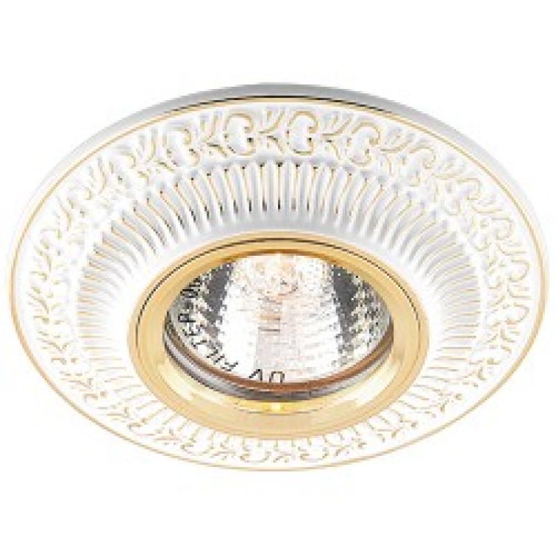 Встраиваемый светильник Feron DL6240 белый золото (28884)