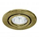 Встраиваемый светильник Feron DL11 античное золото (15208)