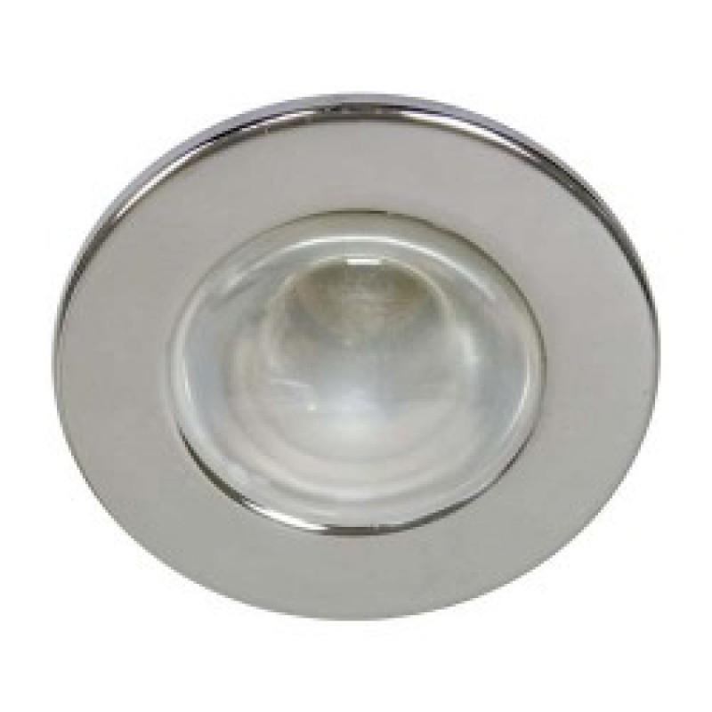Встраиваемый светильник Feron 1713 хром (14009)