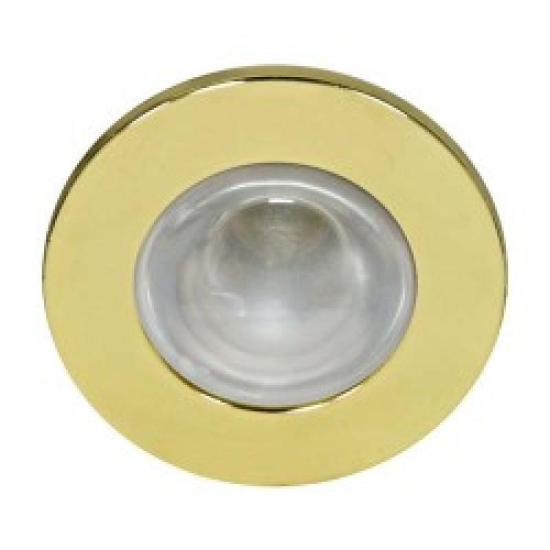 Встраиваемый светильник Feron 2746 золото (14002)