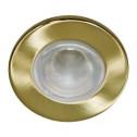 Встраиваемый светильник Feron 1713 матовое золото (14053)
