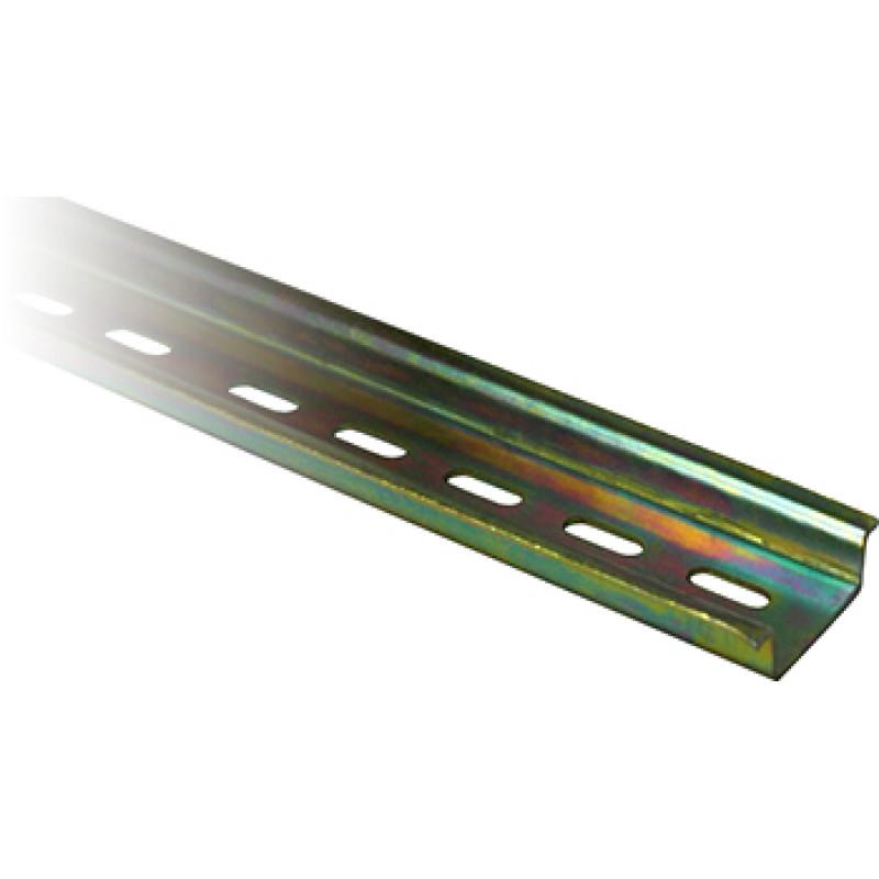 DIN-рейка E.NEXT e.din.stand.rail.101, 25 см, перфорированная (s023006)