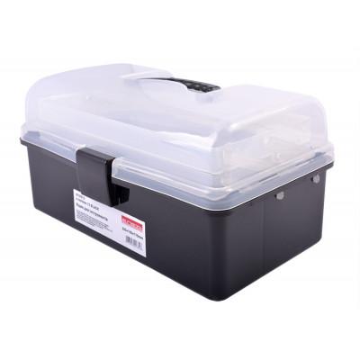 Ящик для инструментов, e.toolbox.13 BLACK, 225х130х115мм E.NEXT