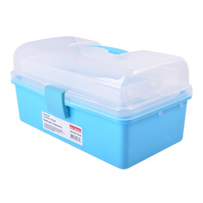 Ящик для инструментов, e.toolbox.13 BLUE, 225х130х115мм E.NEXT