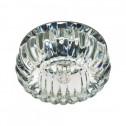 Встраиваемый светильник Feron C1010 прозрачный хром (28238)