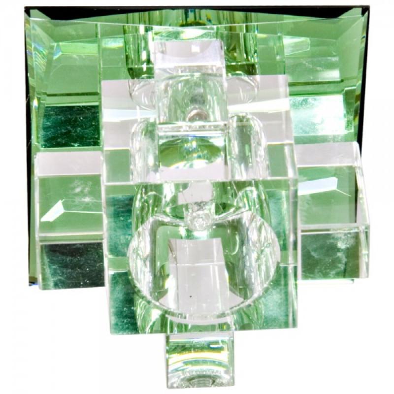 Встраиваемый светильник Feron 1525 зеленый (19781)