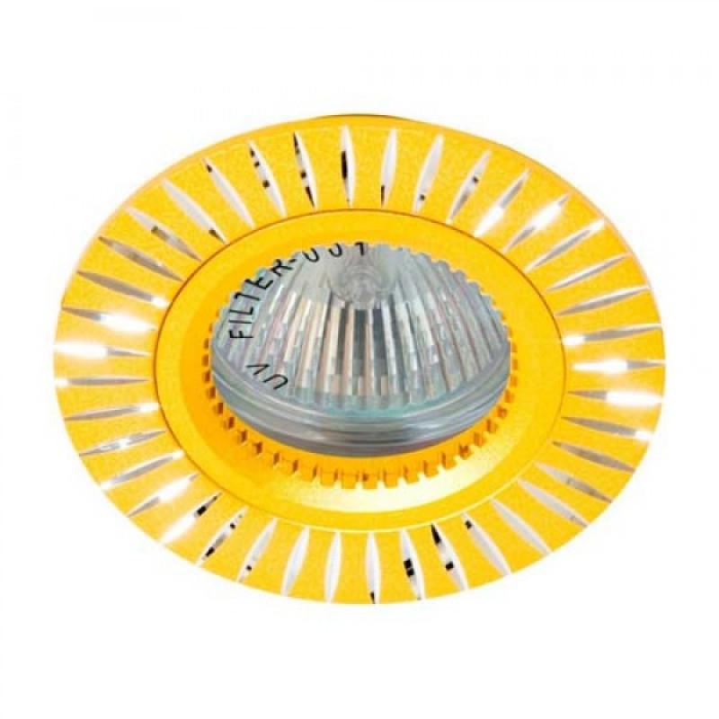 Встраиваемый светильник Feron GS-M394 золото (17935)