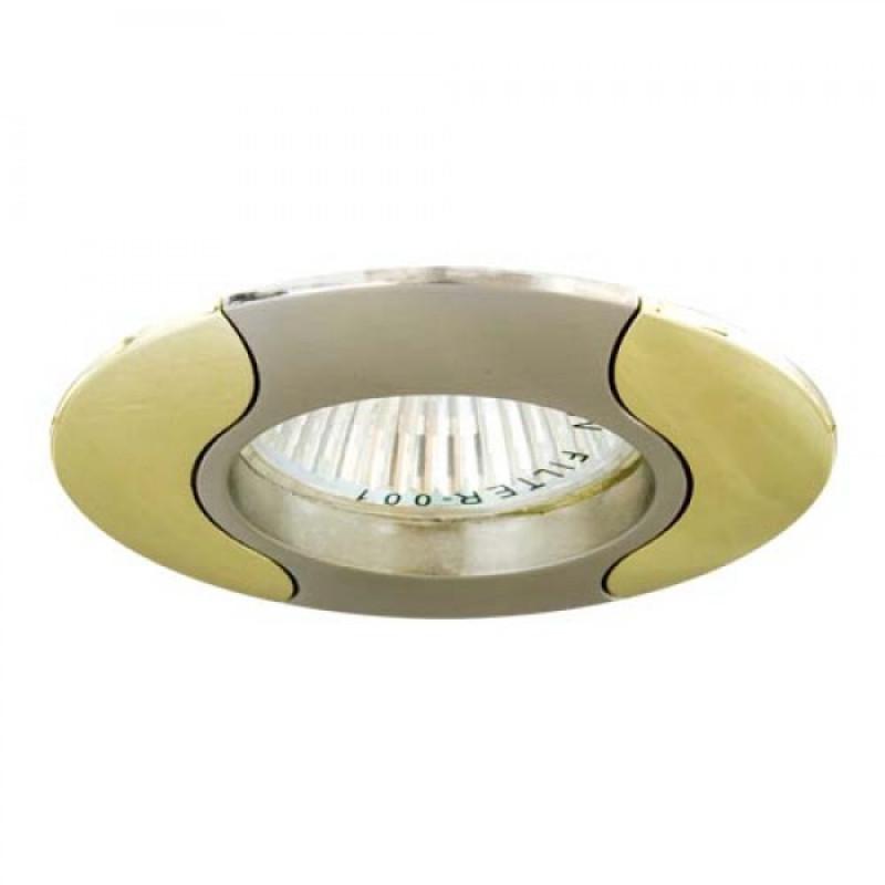 Встраиваемый светильник Feron 020Т MR-16 титан золото (17680)