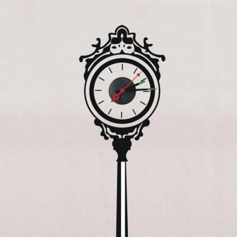 Виниловая наклейка Feron NL34 уличные часы (23303)