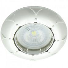 Встраиваемый светильник Feron DL6022 жемчужное серебро (30129)
