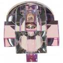 Встраиваемый светильник Feron C1037 розовый (19637)