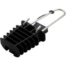 Анкерный изолированный зажим E.NEXT e.i.clamp.pro.la.1.s2, с жесткой скобой
