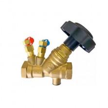 Вентиль балансировочный муфтовый латунный DN 25 PN 25 арт. 221 ZETKAMA; Tmax 300°C