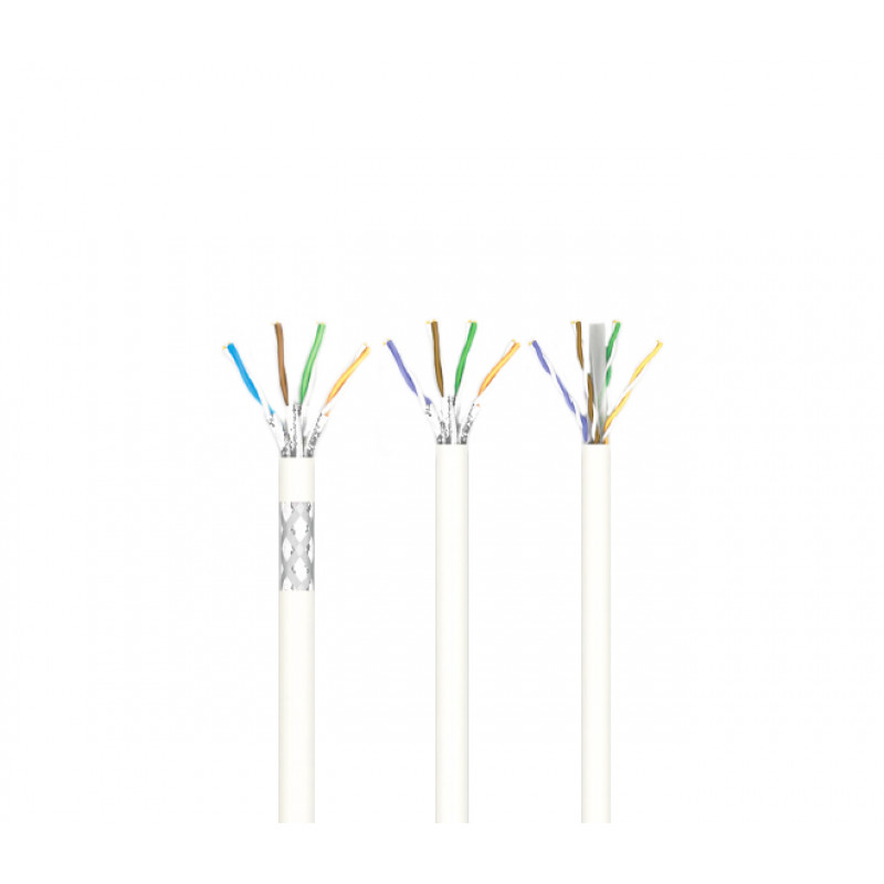 LAN-кабель КПВонг-HFЭО-ВП (200) 4х2х0,51 (SF/UTP-cat.5E LSOH) Одескабель