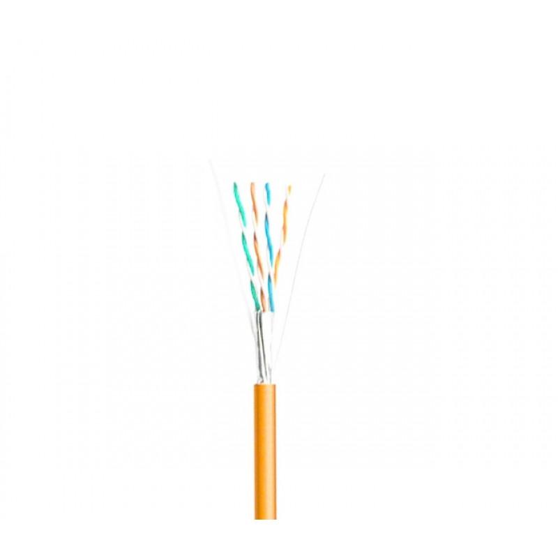LAN-кабель КПВонг-HFЭ-ВП (200) 4х2х0,51 (F/UTP-cat.5E LSOH) Одескабель