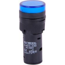 Арматура светосигнальная E.NEXT e.ad16.230.blue Ø16мм 230В АС синяя (s009016)