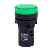 Арматура светосигнальная E.NEXT e.ad22.12.green Ø22мм 12В АС/DC зеленая (s009018)