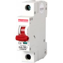 Автоматический выключатель E.NEXT e.industrial.mcb.100.1.C6, 1p, 6А, C, 10кА (i0180001)