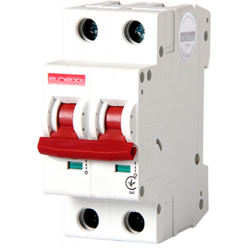 Автоматический выключатель E.NEXT e.industrial.mcb.100.1N.C10, 1р + N, 10А, C, 10кА (i0190002)
