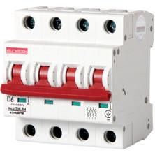 Автоматический выключатель E.NEXT e.industrial.mcb.100.3 N. D6, 3р+N, 6А, D, 10кА (i.0210001)