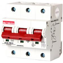 Автоматический выключатель E.NEXT e.industrial.mcb.150.3.D63, 3р, 63А, D, 15кА (i0630009)