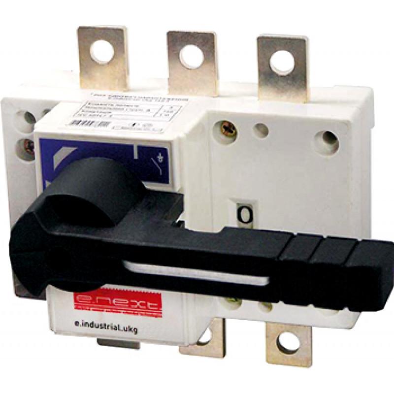 Выключатель-разъединитель нагрузки E.NEXT e.industrial.ukg.125.3, 3р, 125А, с фронтальной рукояткой управления (i0590001)