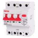 Выключатель дифференциального тока с защитой от сверхтоков E.NEXT e.rcbo.pro.4.C40.100, 3P + N, 40А, С, тип А, 100мА (p0720024)