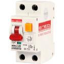 Выключатель дифференциального тока E.NEXT e.industrial.elcb.2.C20.30, 2р, 20А, С, 30мА (i0230004)